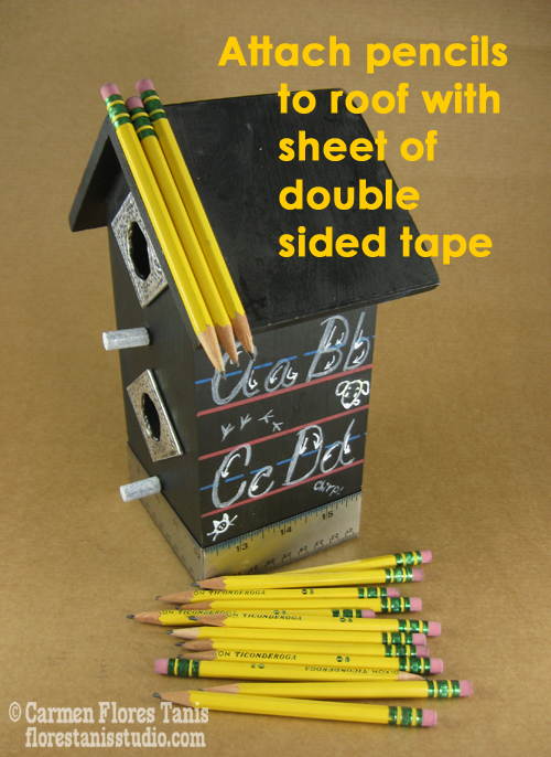 12-Attach-pencils-to-roof