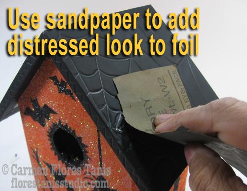 10-Use sandpaper