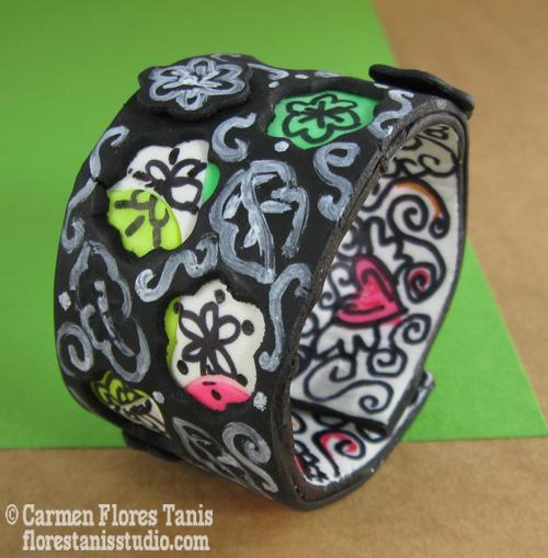1-Kind Sorta Clay-Wrap-Cuff