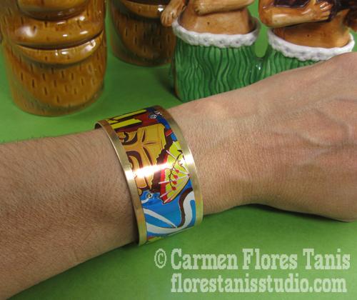 Tiki-Bracelet-by-Carmen-Flores-Tanis