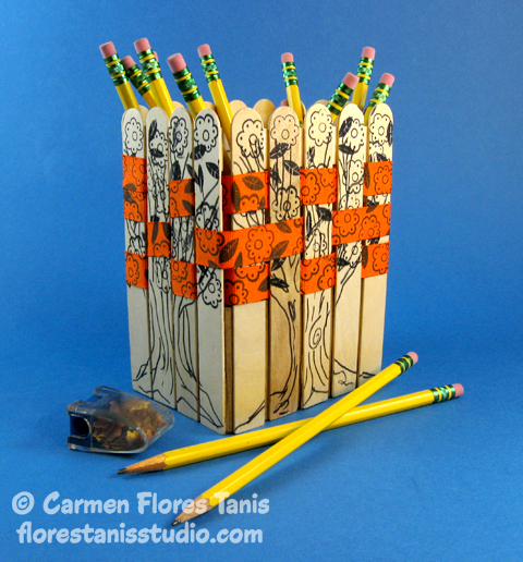 Sticky-Sticks-Woven-Ribbon-Pencil-Basket-by-Carmen-Flores-Tanis-1