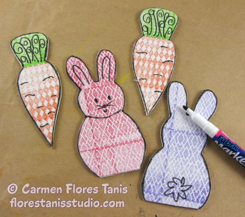 Stamped-Bunnies-and-Basket-Bag-by-Carmen-Flores-Tanis-7