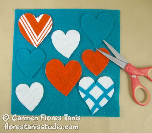 Buttoned-Up-and-Heart-Felt-Framed-Panel-by-Carmen-Flores-Tanis-Step-Out-1
