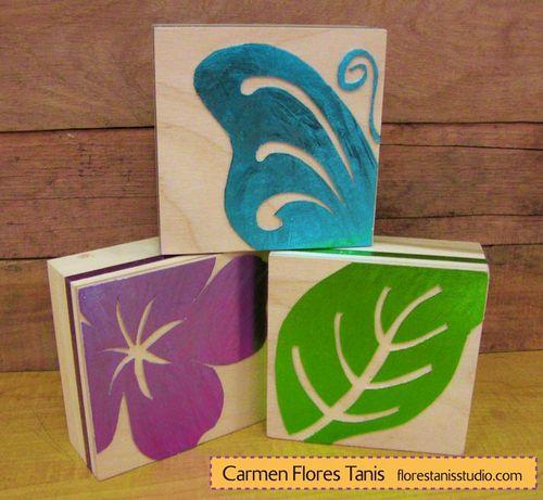 Bright-and-Shiny-Foil-Garden-Theme-Shelf-Sitter-Wood-Blocks-Main-1