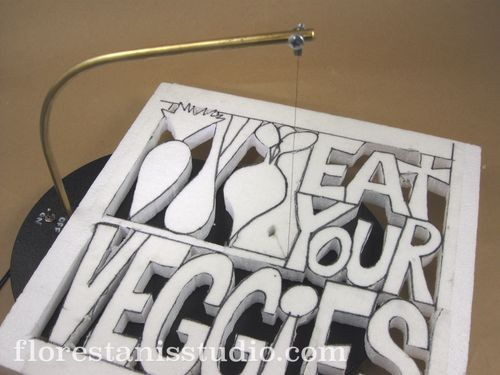 Eat-Your-Veggies-Carved-Panel-by-Carmen-Flores-Tanis Step 2