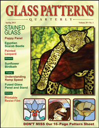 Glass Patterns Quarterly Spring 2013