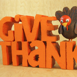 Give Thanks Table Decoration