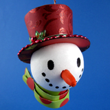 Cheery Snowman Ornament