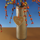 Etched Glass Sweetheart Tree