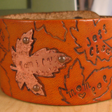 Family Tree Stamped Wristband