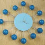 Mid-Century Inspired Retro Satellite Ball Clock