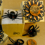 Halloween Spider Ring Favors