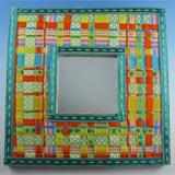Woven Ribbon Mirror