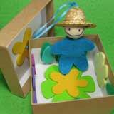 Little Gardener Puppet In A Box