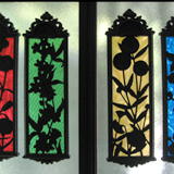 Stained Glass Effect Panels