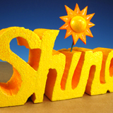 Carved Sunshiney Sign