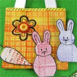 Stamped Bunny Bag