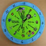 Personalized Sweetie Clock